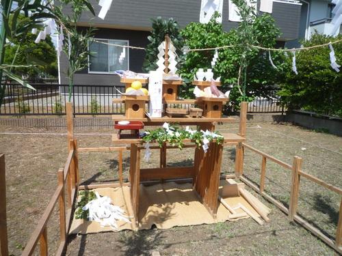 地鎮祭が行われました。_a0148909_17192183.jpg