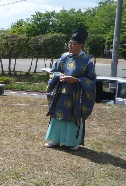 地鎮祭が行われました。_a0148909_1942036.jpg
