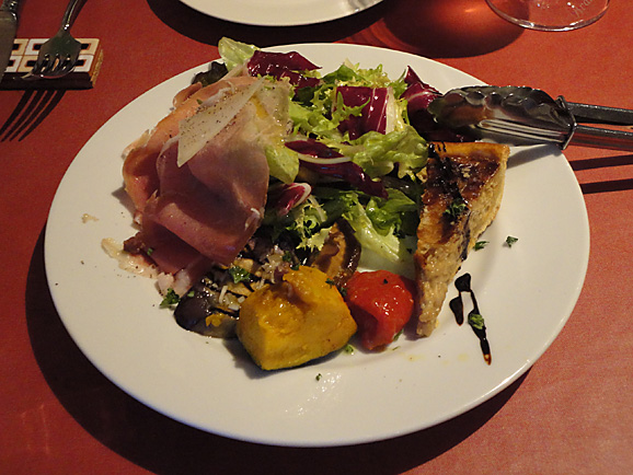 ボンジョリーナでお祝いディナー_e0230011_1974383.jpg