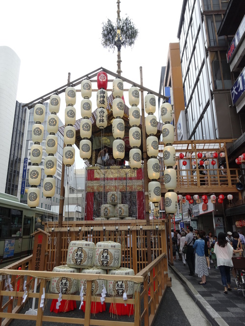 祇園祭り と うめぞのCAFE&GALLERY_c0223630_1639518.jpg