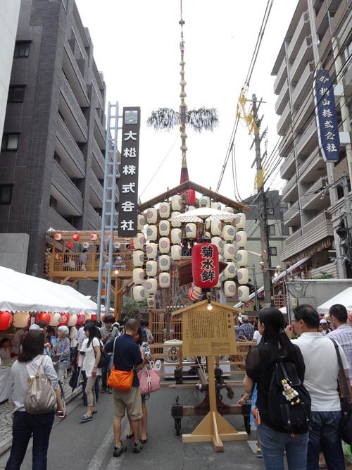 祇園祭り と うめぞのCAFE&GALLERY_c0223630_16473719.jpg