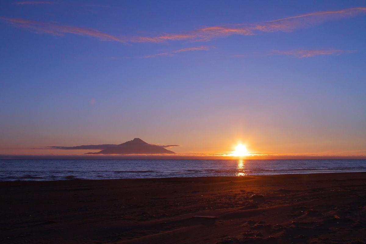 北海道の夏2014_サロベツの夕景と..._d0125872_19363291.jpg