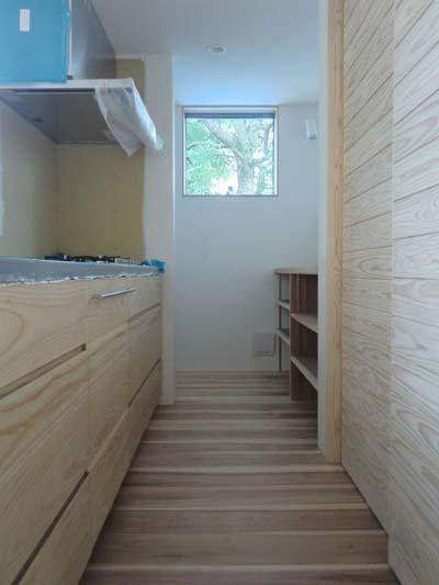 【家づくり】 オリジナルキッチン設置2_c0293787_134426.jpg