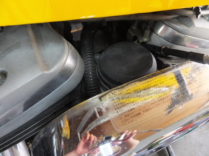 スクリーミンハイフローエアクリ&タイヤ交換!_c0226202_11501240.jpg