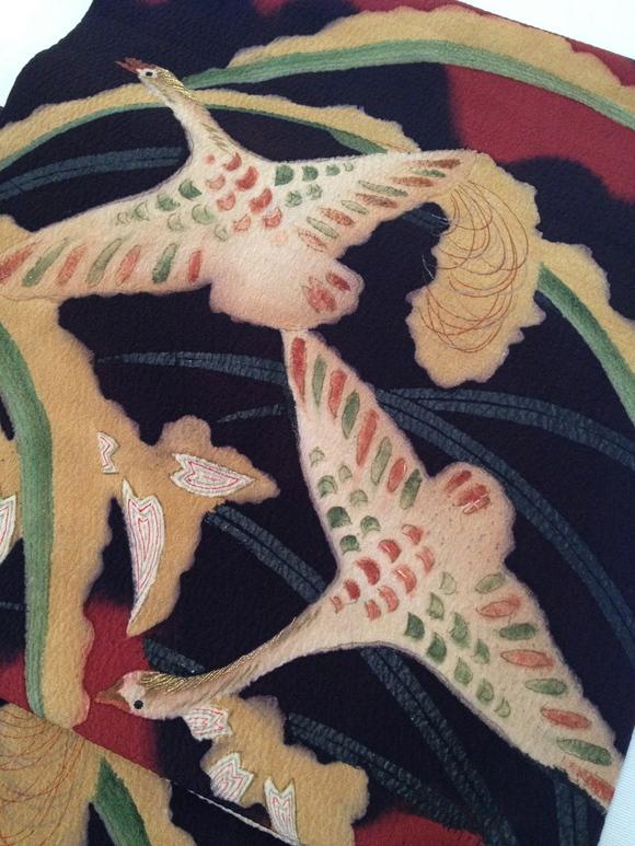 明日から!「今昔きもの市」燕とカモメ帯・雁帯♪販売商品35_c0321302_1149229.jpg