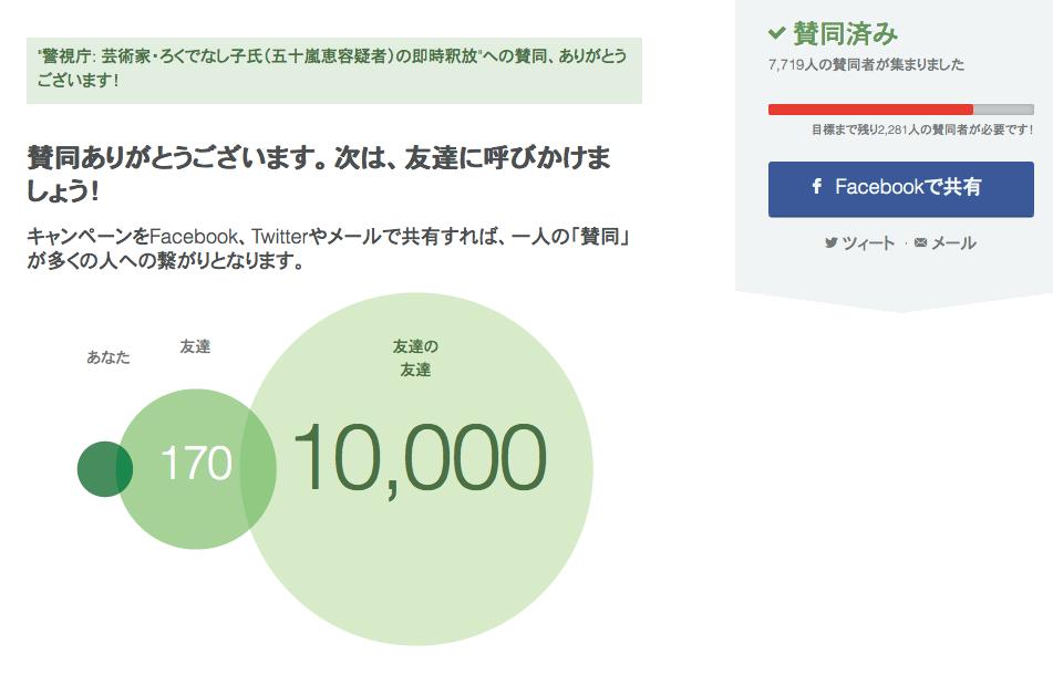 芸術家・ろくでなし子氏(五十嵐恵容疑者)の即時釈放 change.org  #artweet #art_jp #contemporaryart_b0074921_6542071.png