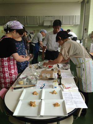 三木市コープ共同学苑 料理教室_c0119937_261730.jpg