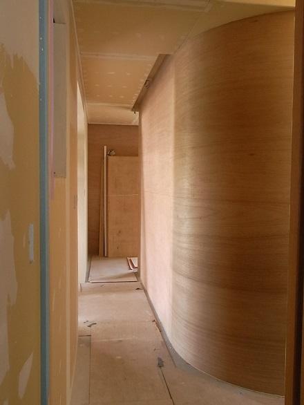 『リボーンハウス』カーブする壁。_e0197748_14181415.jpg
