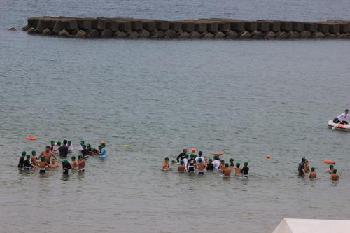 臨海学校の始まり~♪_a0200771_21563197.jpg