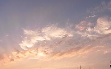 日没後の空の色_b0273973_13545297.jpg