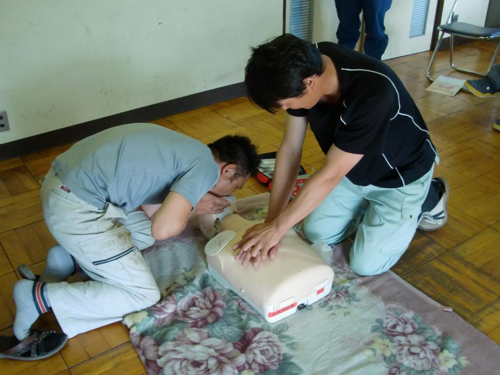 普通救命救急講習_d0172802_9321615.jpg