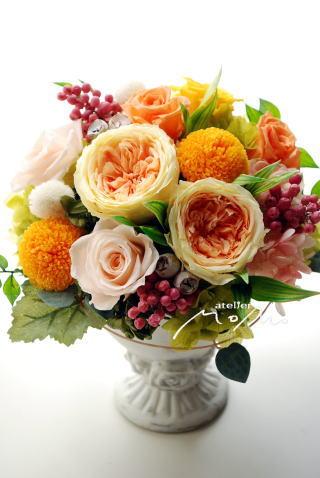 元気なビタミンカラーのアレンジ♪_a0136507_18373663.jpg