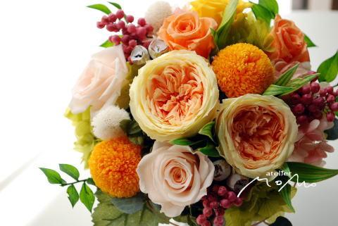 元気なビタミンカラーのアレンジ♪_a0136507_18374459.jpg