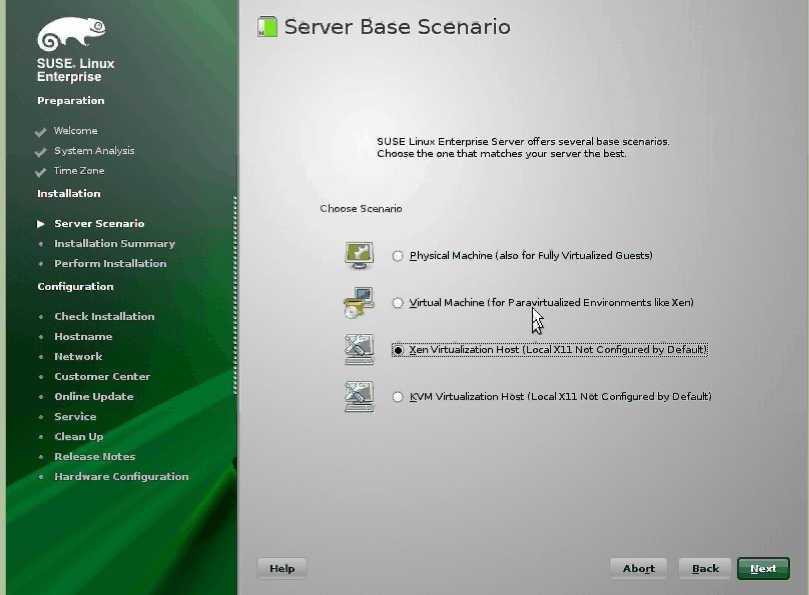動画付:SUSE Linux のインストール SLES on XEN_a0056607_14574590.jpg