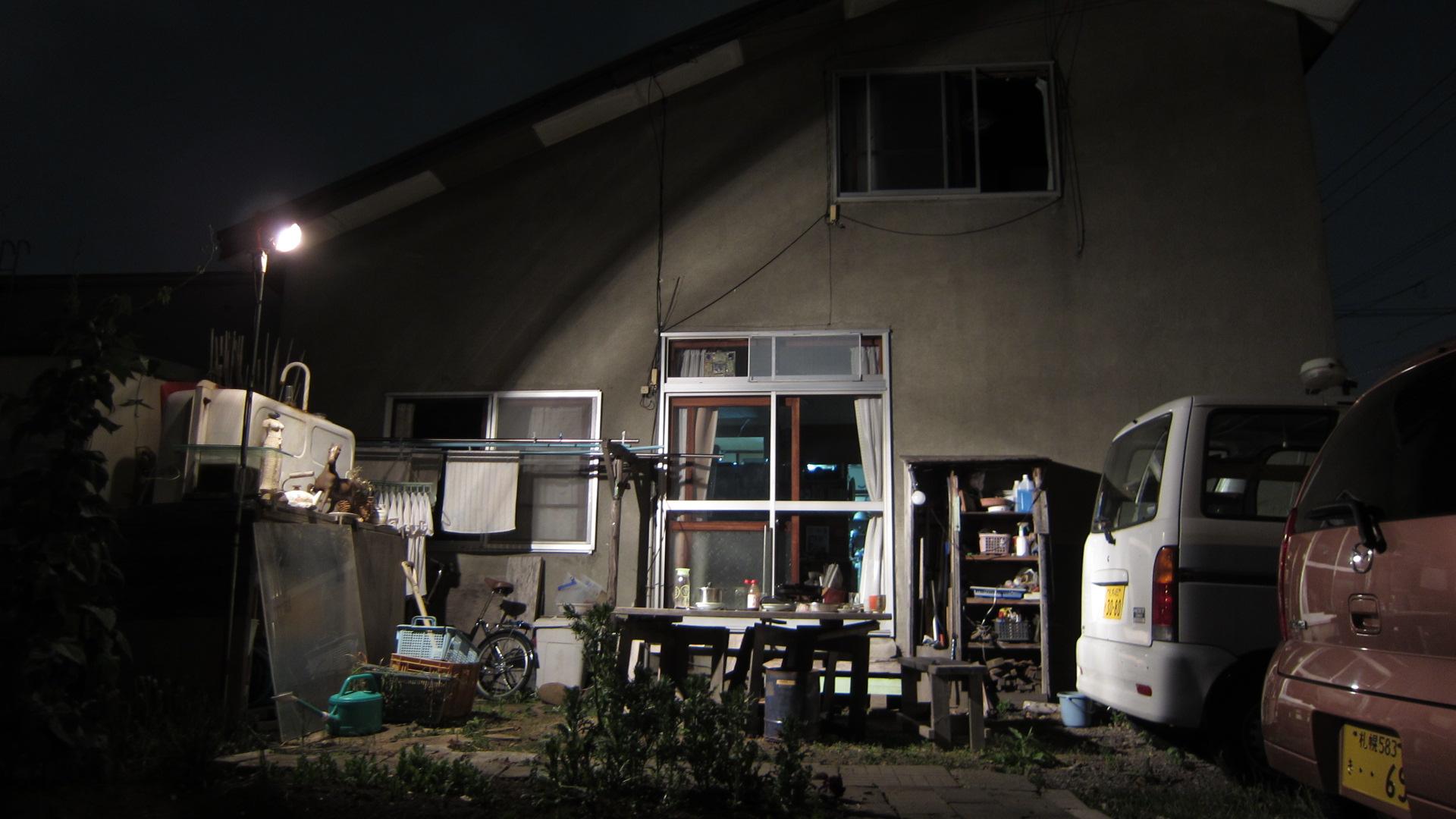 2416)「昨夜は庭で夕食をした。2014年7月17日(木)」_f0126829_16595183.jpg