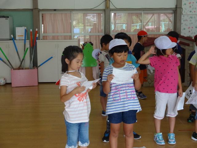 二田小学校一年生来園_d0166047_15414567.jpg