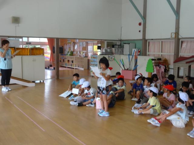 二田小学校一年生来園_d0166047_15442457.jpg