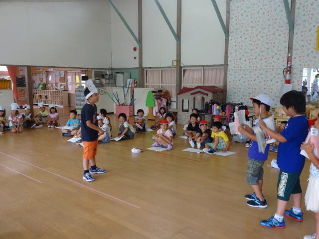 二田小学校一年生来園_d0166047_15453095.jpg