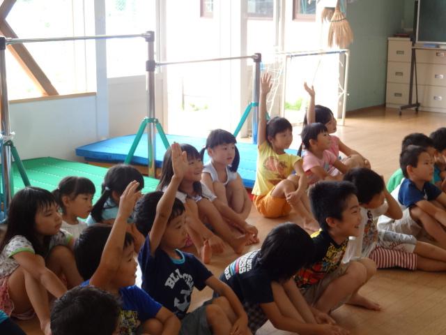 二田小学校一年生来園_d0166047_15523950.jpg