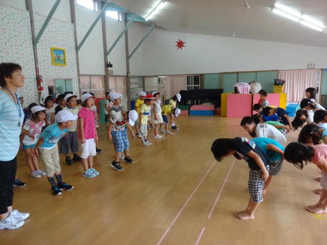 二田小学校一年生来園_d0166047_15595136.jpg