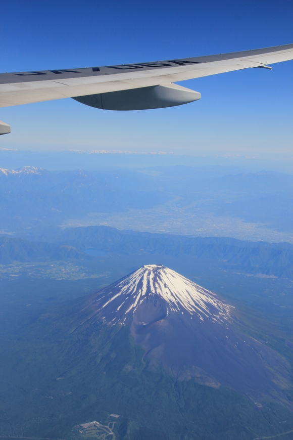 日本上空 富士山 絶景・・_d0202264_5462311.jpg