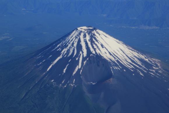 日本上空 富士山 絶景・・_d0202264_5471567.jpg