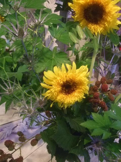 オークリーフ花の教室(山田さんの作品)_f0049672_17453146.jpg