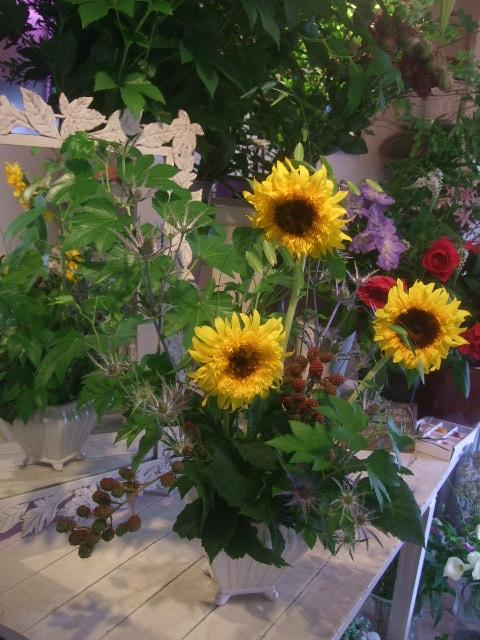オークリーフ花の教室(山田さんの作品)_f0049672_17463567.jpg
