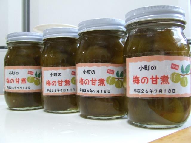 梅の甘煮は、難しい_f0019498_16595285.jpg
