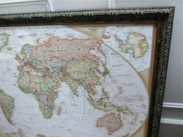 世界地図の額裝_a0077203_18344868.jpg