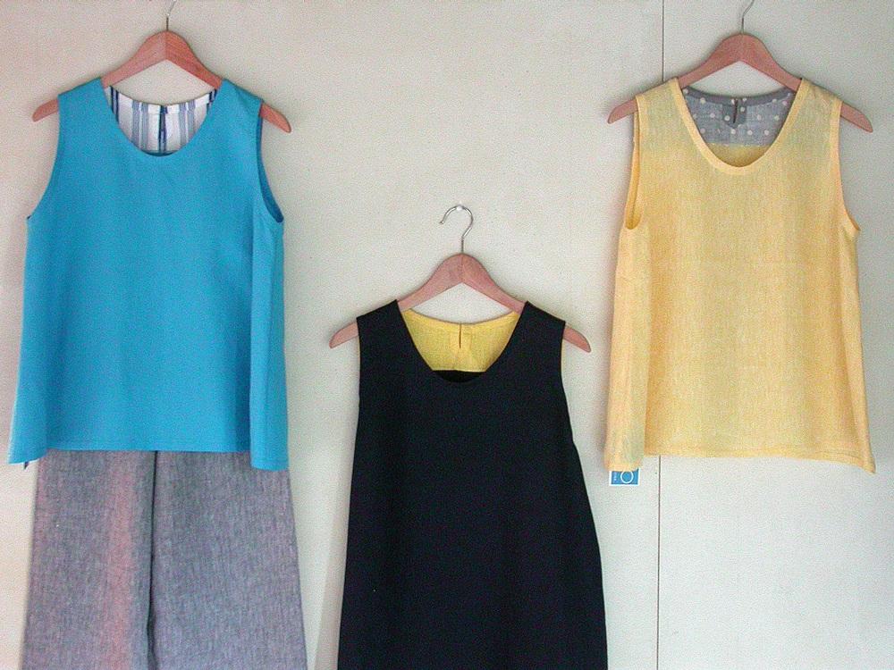 「なつの日」 Liricaの洋服、satouの傘_a0089420_114447100.jpg