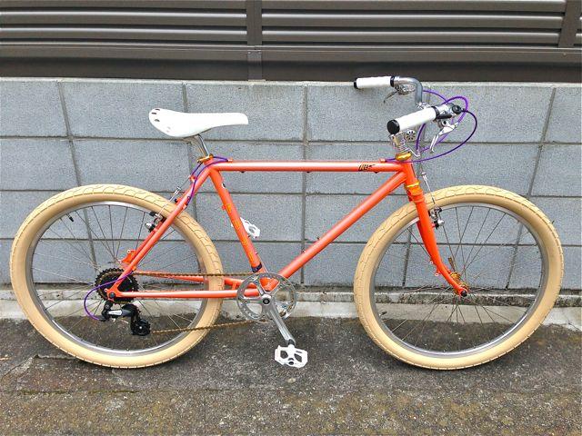 雑誌『BICYCLE NAVI』掲載その1 カスタム企画 FUJI MTF フジ おしゃれ 自転車 女子_b0212032_2191461.jpg