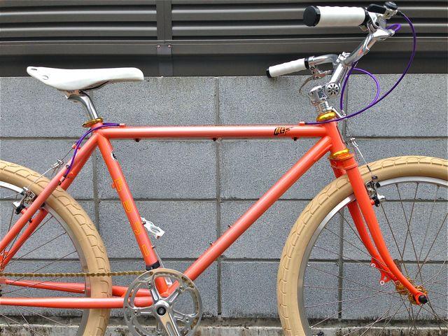 雑誌『BICYCLE NAVI』掲載その1 カスタム企画 FUJI MTF フジ おしゃれ 自転車 女子_b0212032_2192384.jpg
