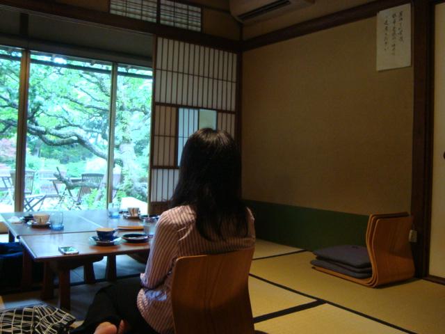 鎌倉「大佛茶廊 (おさらぎさろう)」へ行く。_f0232060_1710171.jpg