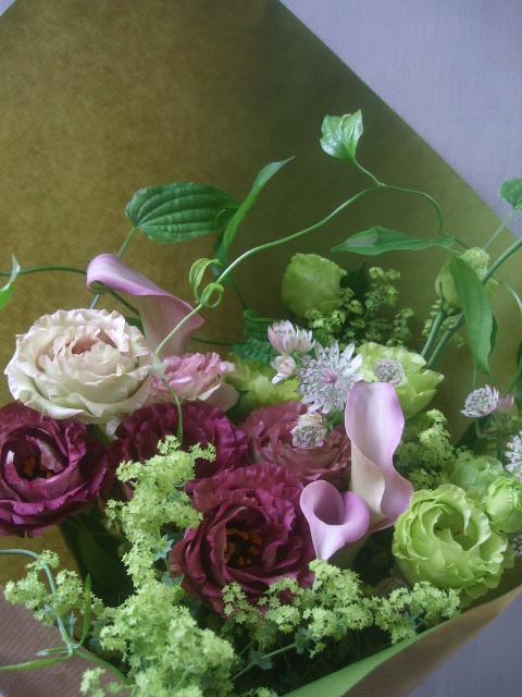 オークリーフ(季節の花束)_f0049672_1803118.jpg