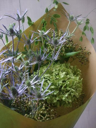 オークリーフ(季節の花束)_f0049672_1812765.jpg