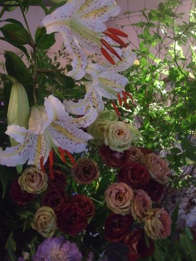 オークリーフ(季節の花束)_f0049672_18134546.jpg