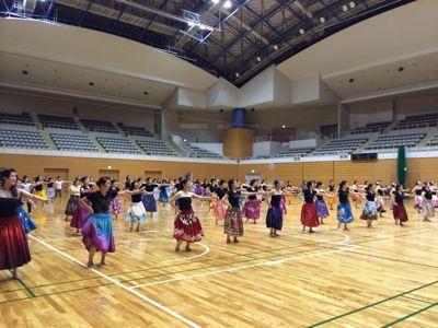 第三回フラダンス発表会😄東総合スポーツセンター_d0256587_23571713.jpg