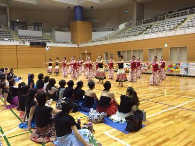第三回フラダンス発表会😄東総合スポーツセンター_d0256587_23572863.jpg