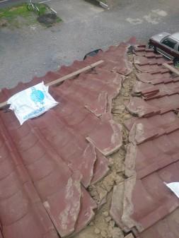 板橋区の高島平で雨漏り発見_c0223192_18382974.jpg