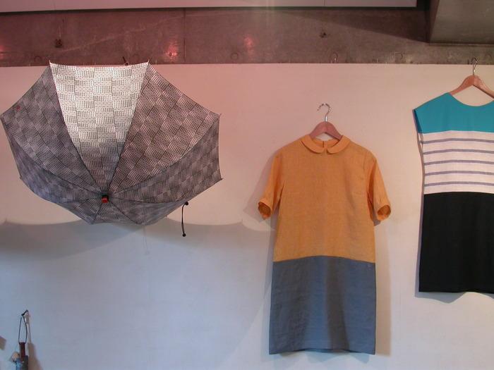 「なつの日」 Liricaの洋服、satouの傘_a0089420_10331387.jpg