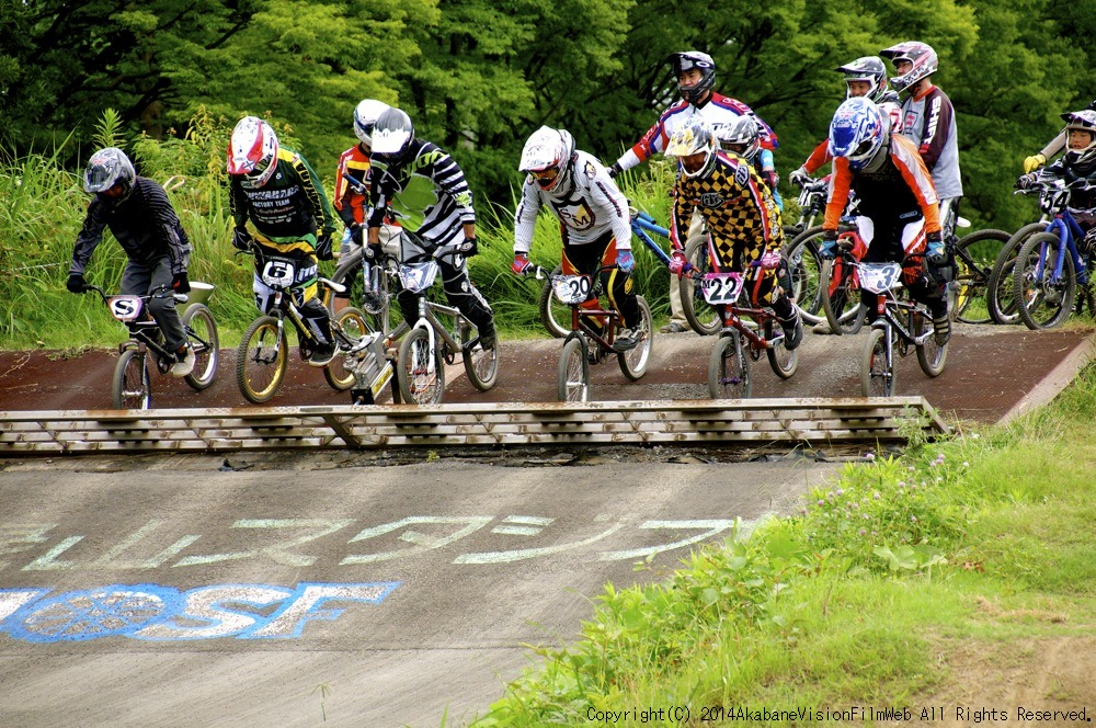 2014JOSF緑山7月定期戦:VOL2:BMXマスターズ決勝 動画あり_b0065730_19284049.jpg