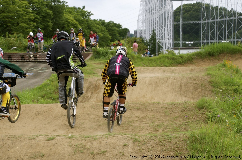 2014JOSF緑山7月定期戦:VOL2:BMXマスターズ決勝 動画あり_b0065730_19305794.jpg