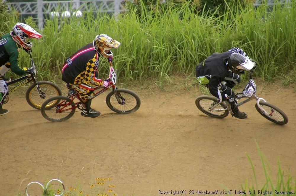2014JOSF緑山7月定期戦:VOL2:BMXマスターズ決勝 動画あり_b0065730_19312425.jpg