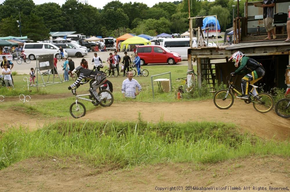 2014JOSF緑山7月定期戦:VOL2:BMXマスターズ決勝 動画あり_b0065730_19332532.jpg