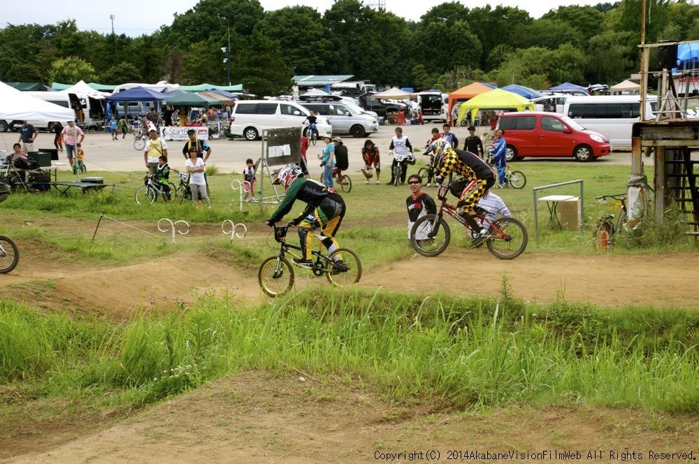 2014JOSF緑山7月定期戦:VOL2:BMXマスターズ決勝 動画あり_b0065730_19333465.jpg