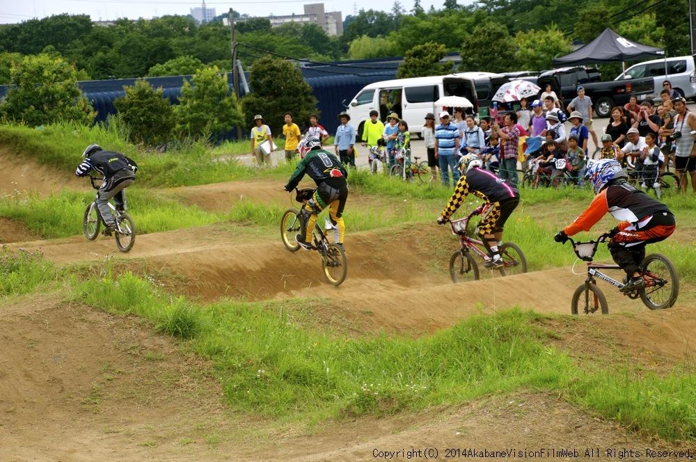 2014JOSF緑山7月定期戦:VOL2:BMXマスターズ決勝 動画あり_b0065730_19334317.jpg
