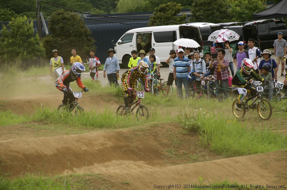 2014JOSF緑山7月定期戦:VOL2:BMXマスターズ決勝 動画あり_b0065730_19344926.jpg