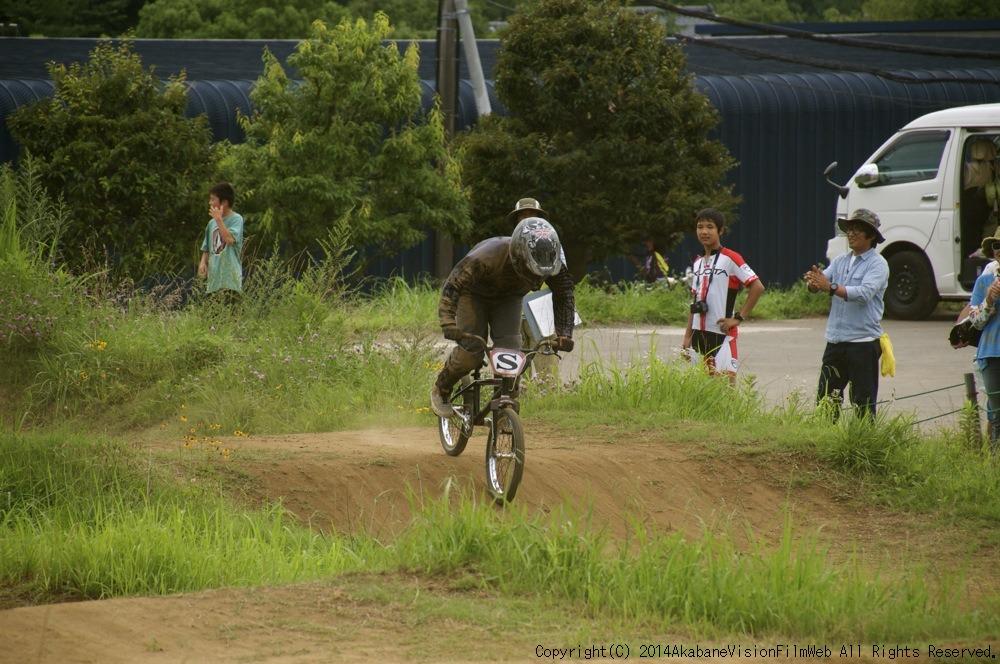 2014JOSF緑山7月定期戦:VOL2:BMXマスターズ決勝 動画あり_b0065730_19352077.jpg