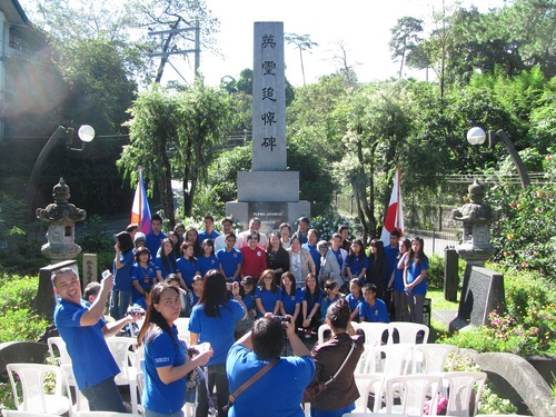 Philippines-Japan Friendship Day ceremony in Baguio city 日比友好の日 2014_a0109542_2348513.jpg